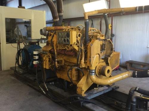 large industrial diesel generator